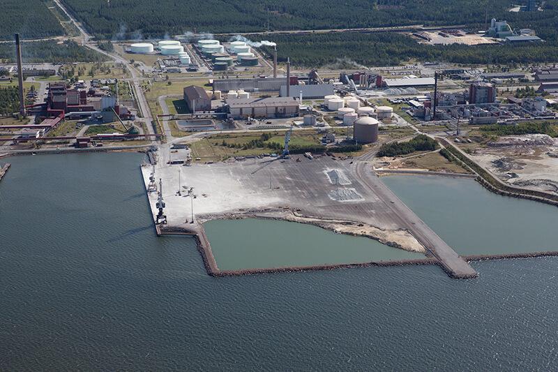 Hopeakiven sataman jatkuva kehittäminen