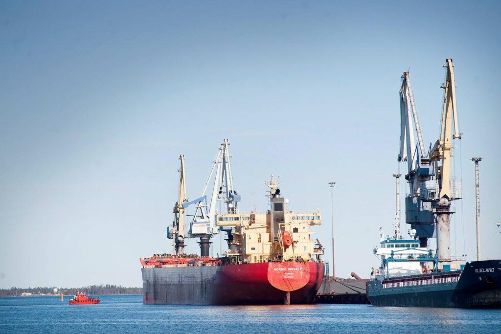 Panamax-alus Nordic Odyssey