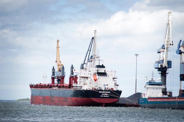 Panamax-alus SSI Splendid